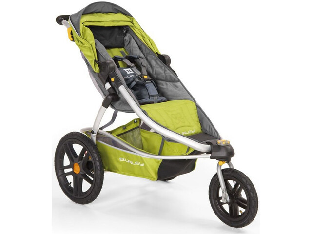 Burley Solstice Poussette, green/grey